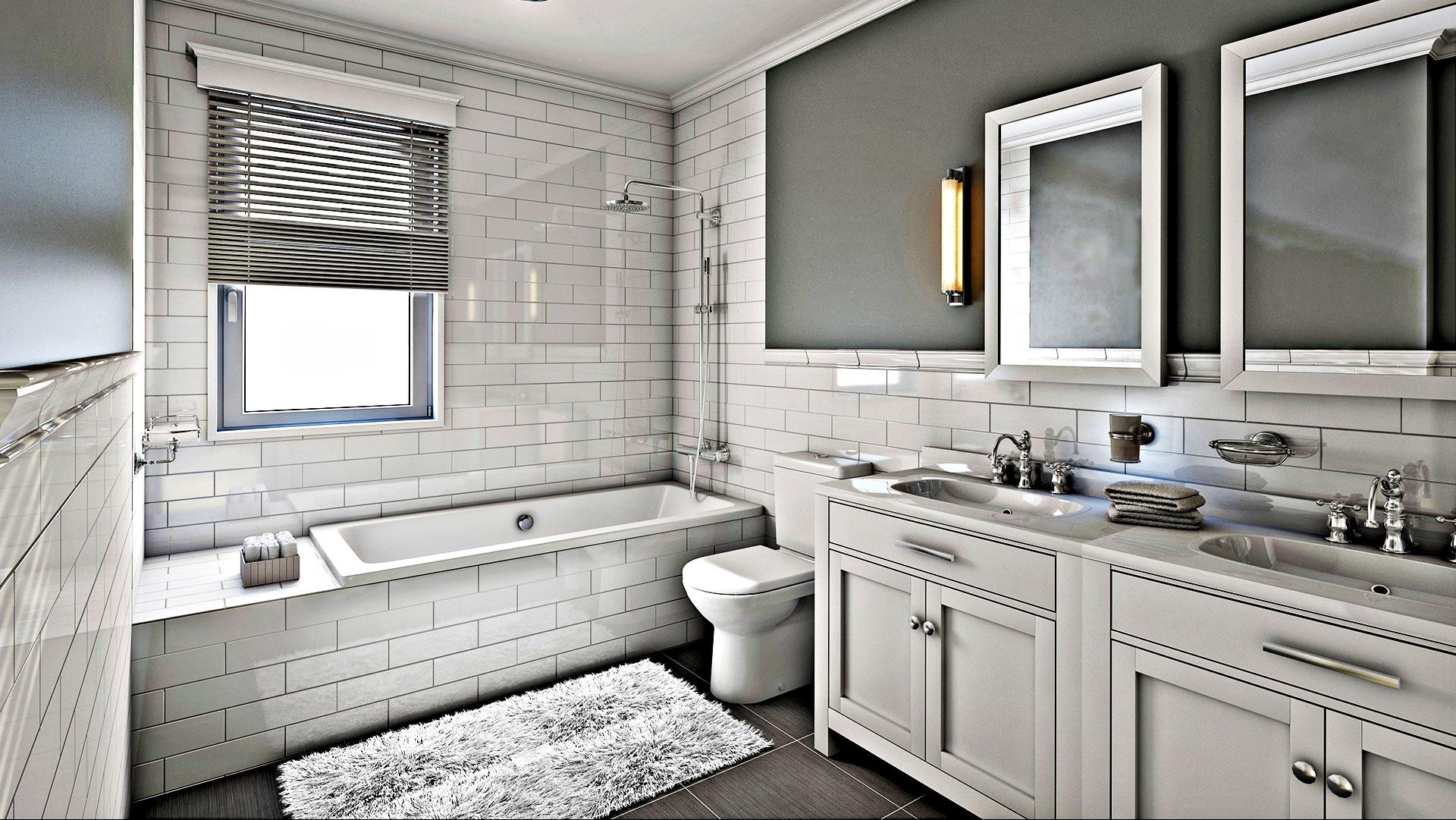 Mcfeniel Services LLC Remodeled Bathroom